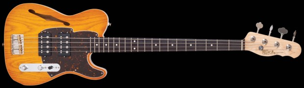Fret-King Announces STVDIO Country Squire Semitone Bass