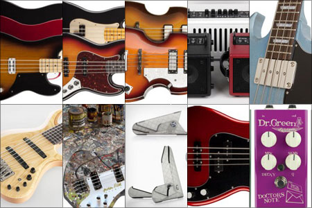 Bass Gear Roundup: The Top Gear Stories in April