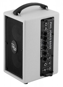 Phil Jones BG-75 White with amp
