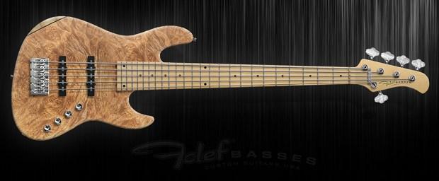 Fclef Basses Custom Series II Bass - Maple-Burl