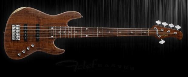 Fclef Basses Custom Series II Bass - Walnut