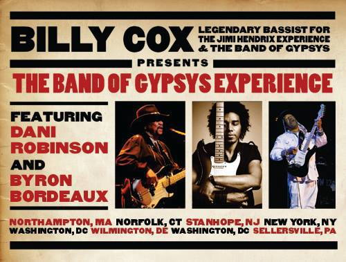 Billy Cox: Band of Gypsys Experience Tour