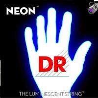 DR Strings NEON Hi-Def White Bass Strings