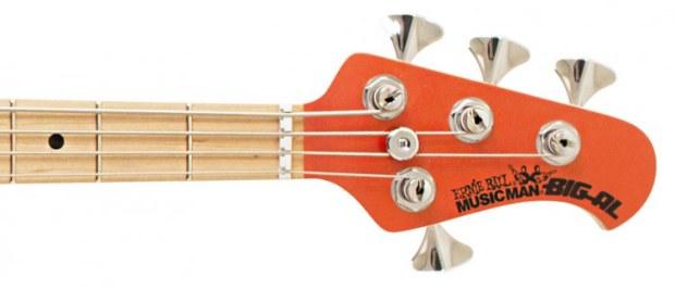 Music Man Big Al 4-string bass headstock