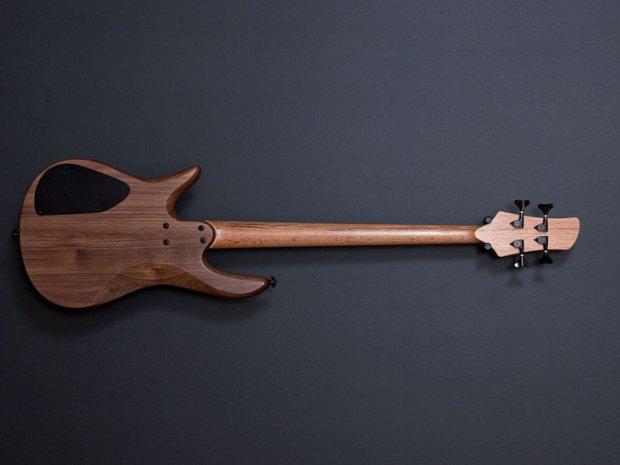 Fodera Monarch 4 Fretless Standard Bass - back
