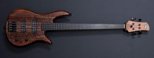 Fodera Monarch 4 Fretless Standard Bass