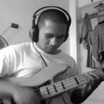 "Jim Joel Santos: ""The Chicken"" Solo Slap Bass Arrangement"