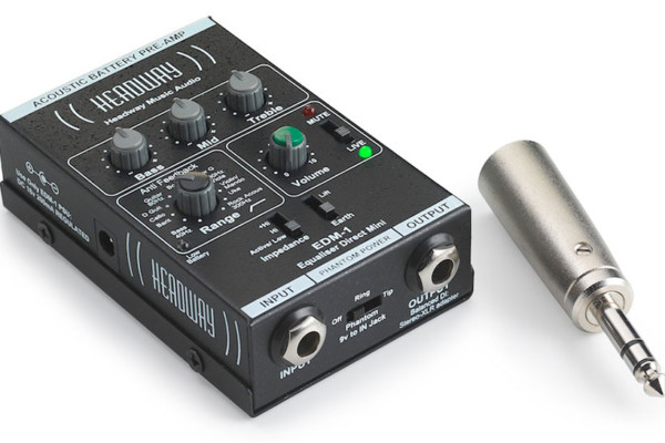 Headway Music Audio Announces EDB-2 and EDM-1 Preamps