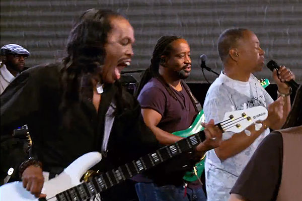 "Earth, Wind, and Fire: ""My Promise"" Rehearsal Performance"
