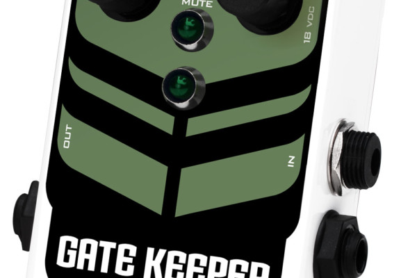 Pigtronix Introduces Gatekeeper Noise Gate Pedal