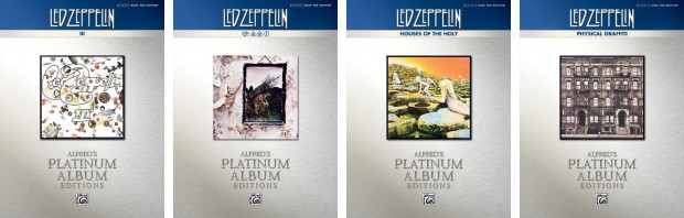 Alfred Music's Led Zeppelin Platinum Bass Titles