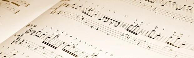 Sheet music for bass