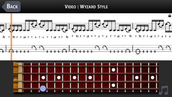 Beginning Slap Bass with MarloweDK screen example 3