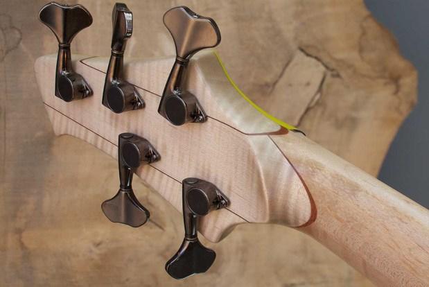 Le Fay ROB 344-66/IIIa Bass Guitar headstock back