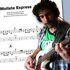 "Bass Transcription: Fernando Lamadrid's ""Mollete Express"""