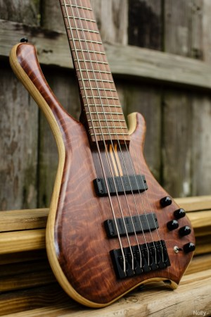 "Adam ""Nolly"" Getgood's G-Spot Basses Temptress Bass body"
