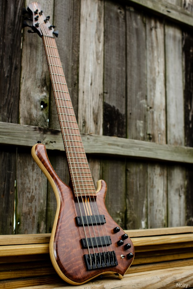 "Adam ""Nolly"" Getgood's G-Spot Basses Temptress Bass"