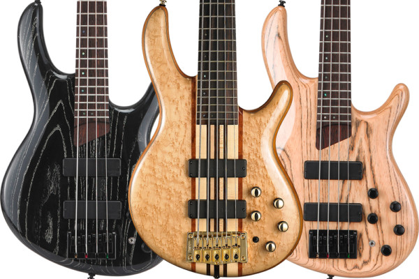 Cort Unveils Artisan 20th Anniversary Basses