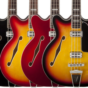 Fender Brings Back the Coronado Bass