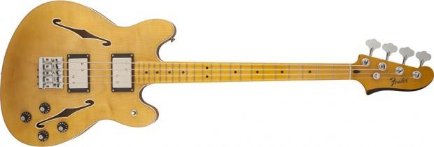 ender Modern Player Starcaster Bass - natural finish