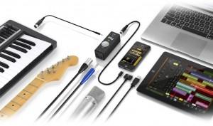 IK Multimedia iRig PRO Audio/MIDI Mobile Interface combo