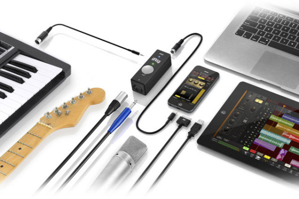 IK Multimedia Announces iRig PRO Audio/MIDI Mobile Interface