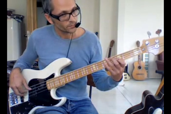Walking Bass Lesson: 12 Bar Blues