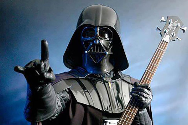 Star Wars Meets Metal Bass