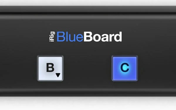 IK Multimedia Now Shipping iRig BlueBoard Wireless MIDI Pedalboard