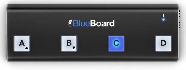IK Multimedia iRig BlueBoard Wireless MIDI Pedalboard