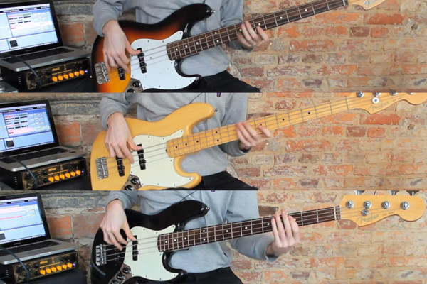 Guitar Bank: Fender Jazz Bass Shootout