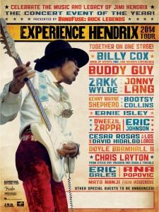 Experience Hendrix Tour 2014