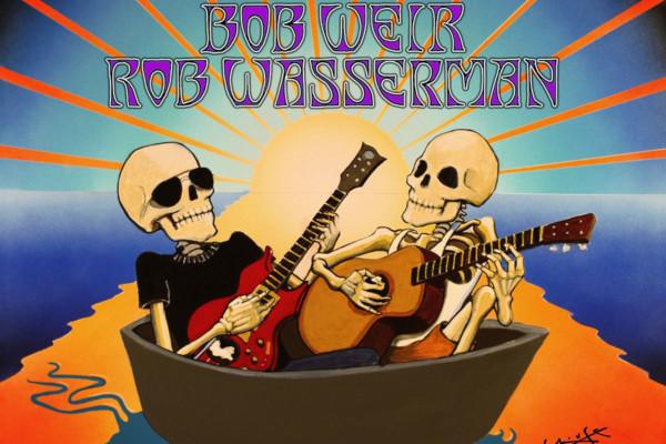 "Jerry Garcia Band/Bob Weir and Rob Wasserman Release ""Fall 1989: The Long Island Sound"""