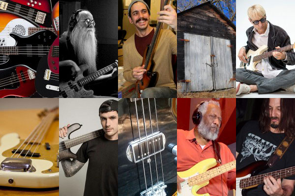 Best of 2013: The Top Bassist Interviews, Old School Basses and Feature Stories