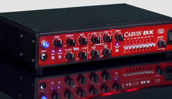 Carvin Introduces BX700 Bass Amplifier