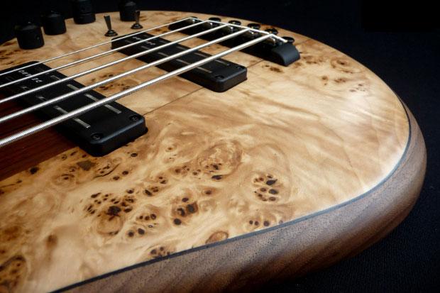 Franz Bassguitars Sirius Bass - Body Detail