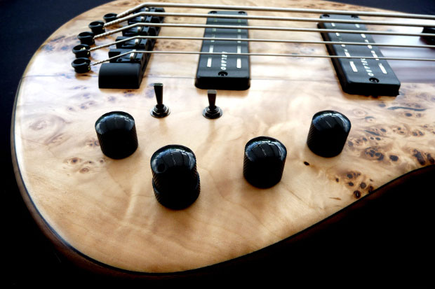 Franz Bassguitars Sirius Bass - Controls