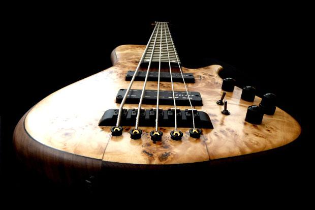 Franz Bassguitars Sirius Bass - Lower Perspective