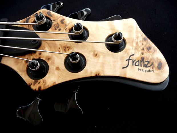 Franz Bassguitars Sirius Bass - Headstock