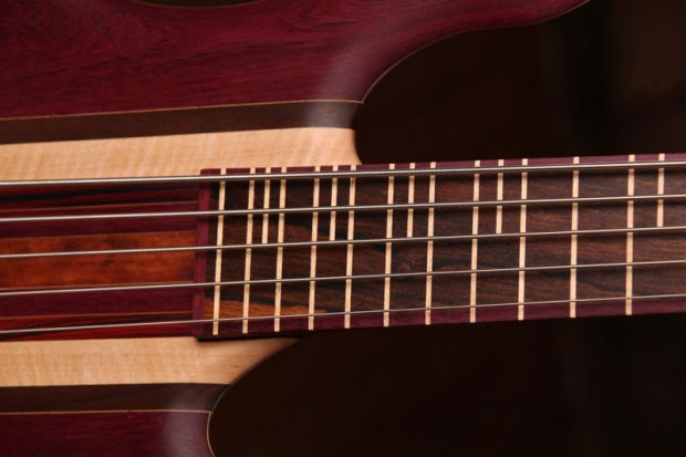 Zoov Guitars Classic 5 Bass - top frets
