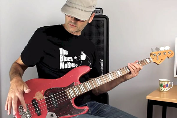 """Bass Lesson: The Fast """"Fade"""" Trick (All in the Fingers)"""