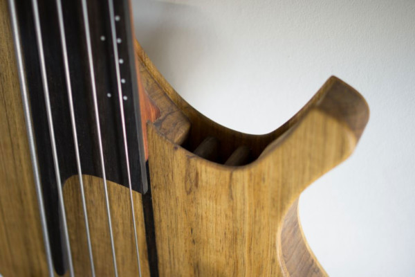 Bass of the Week: CG Lutherie Sequel 5-String Hollow Body Fretless