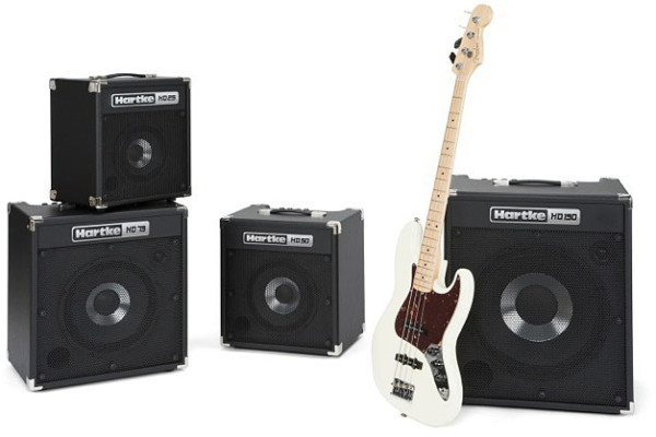 Hartke Unveils HD Bass Combo Series