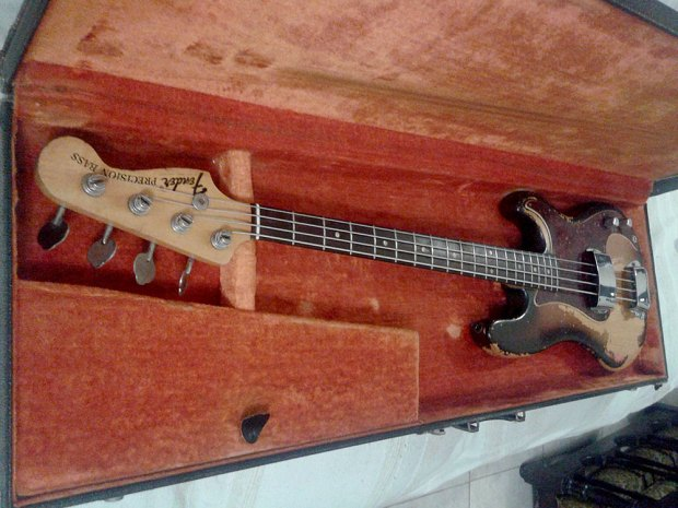 1968 Fender Precision Bass - front (neck)