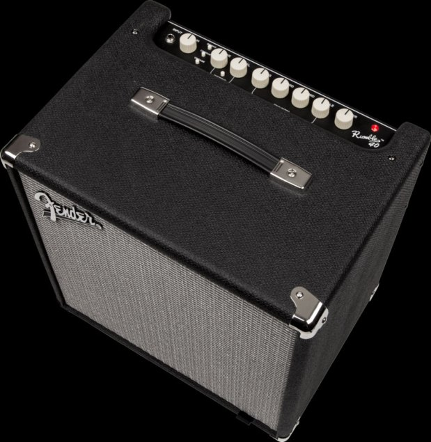 Fender Rumble 40 Bass Combo - Angle view