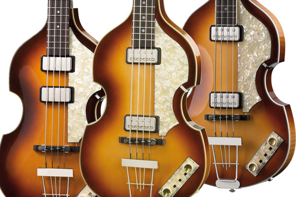 "Höfner Renames ""Beatle Bass"" Reissue Line of Basses"