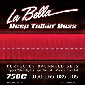 La Bella Copper White Nylon Tape Wound Strings