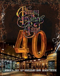 Allman Brothers/40: 40th Anniversary Show Live At The Beacon Theatre