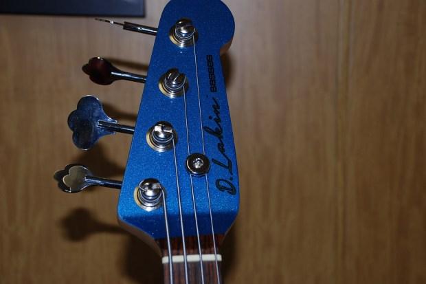 D. Lakin Bass Headstock