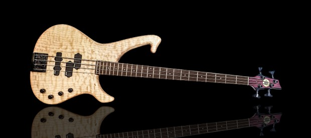 Helios Guitars Evolution 4 Custom Bass front